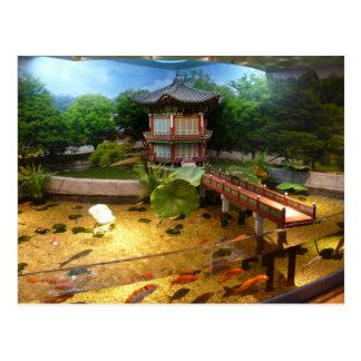 COEX Aquarium Postcard