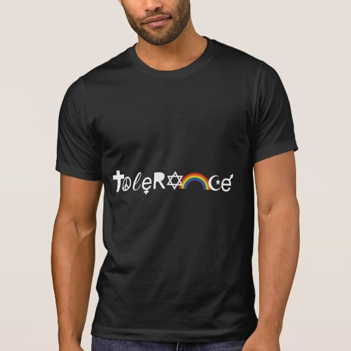 COEXIST WITH TOLERANCE T SHIRT