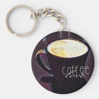 cofee love keychain