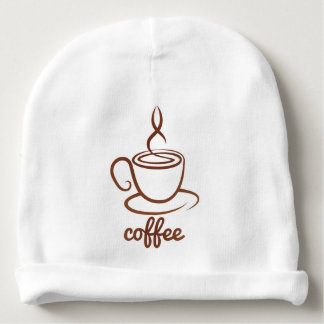 Coffe Cup Concept Baby Beanie