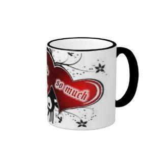 COFFE CUP RINGER MUG