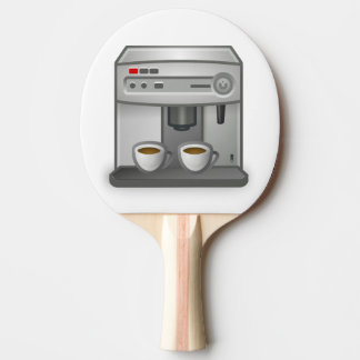 coffe machine ping pong paddle