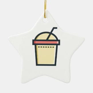 Coffe Soft Drink Ceramic Ornament