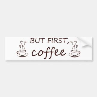 coffee12 bumper sticker