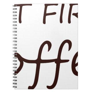 coffee12 notebook