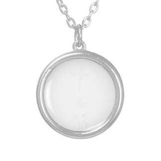 coffee17 silver plated necklace