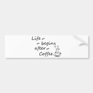 coffee18 bumper sticker