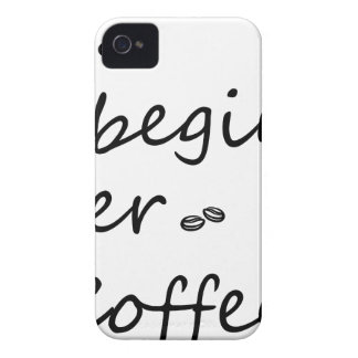 coffee18 iPhone 4 case