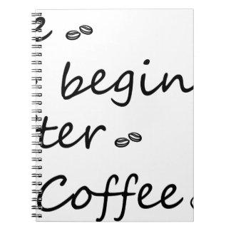 coffee18 notebook