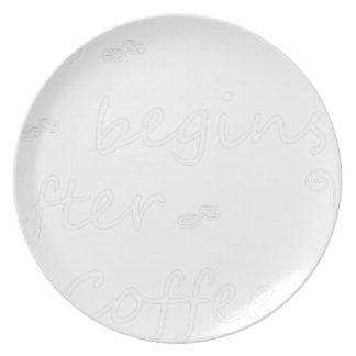 coffee19 plate