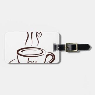 coffee2 luggage tag