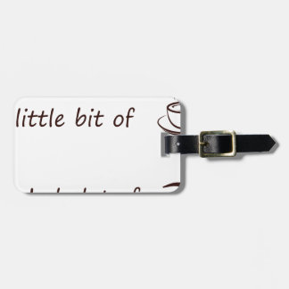 coffee4 luggage tag