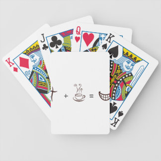 coffee8 bicycle playing cards