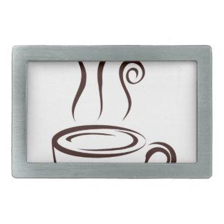 coffee8 rectangular belt buckles