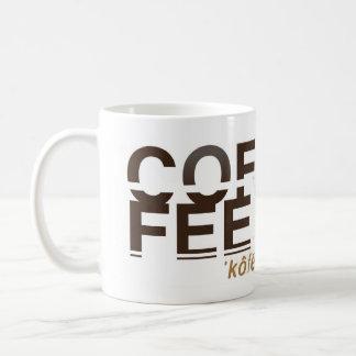 coffee |ˈkôfē; ˈkäfē| coffee mug