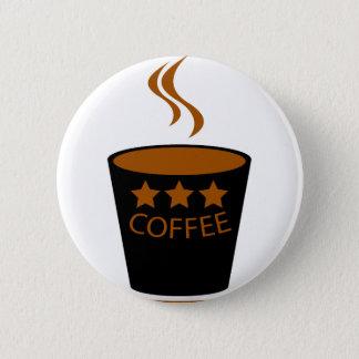 Coffee 2 Inch Round Button