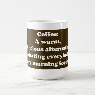Coffee: A warm, delicious alternative MUG