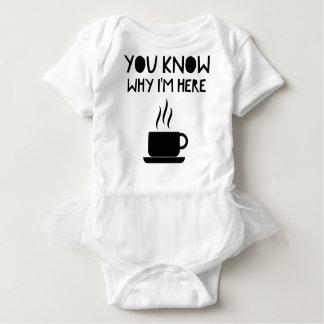Coffee AA Anonymous Drunk Fellowship Baby Bodysuit