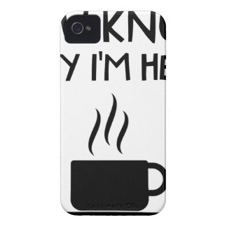 Coffee AA Anonymous Drunk Fellowship Case-Mate iPhone 4 Cases