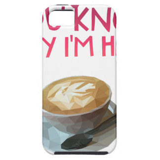 Coffee AA Anonymous Drunk Fellowship iPhone 5 Case