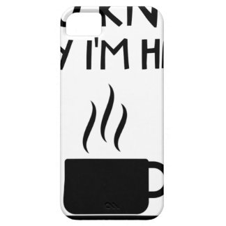 Coffee AA Anonymous Drunk Fellowship iPhone 5 Covers