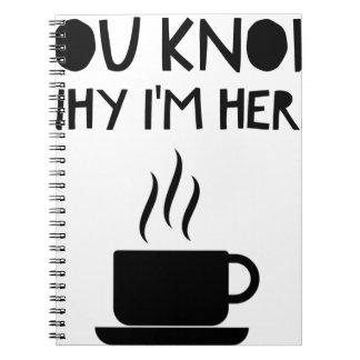Coffee AA Anonymous Drunk Fellowship Notebooks