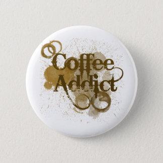 Coffee Addict 2 Inch Round Button