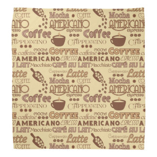 Coffee Addict Bandana