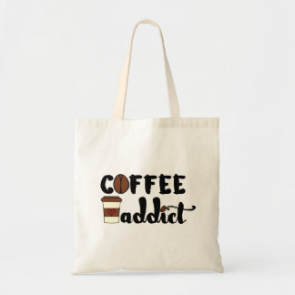 Coffee Addict II Budget Tote Bag