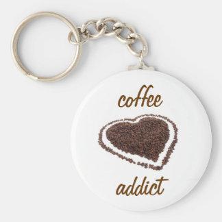 Coffee Addict Keychain