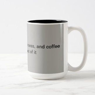 Coffee Addicts Series Two-Tone Coffee Mug