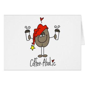 Coffee-aholic Card