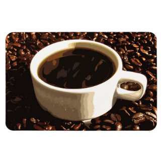 Coffee and Beans Magnet
