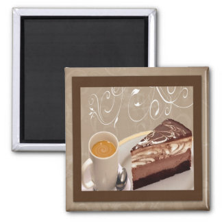 Coffee and Cheesecake Magnet