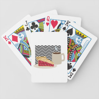 Coffee And Cherry Pie Bicycle Playing Cards