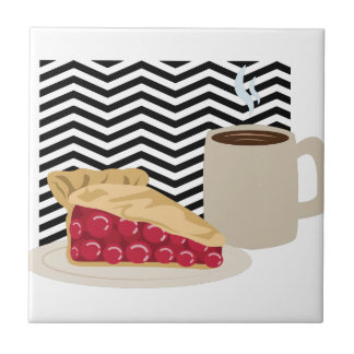 Coffee And Cherry Pie Tile