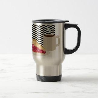 Coffee And Cherry Pie Travel Mug