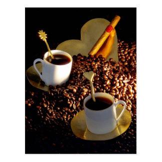Coffee and Cigar Postcard
