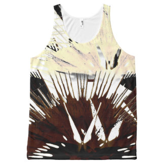 Coffee and Cream. All-Over-Print Tank Top