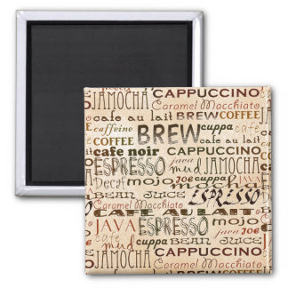 Coffee And Cream Magnet