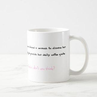 Coffee and Divorce Coffee Mug