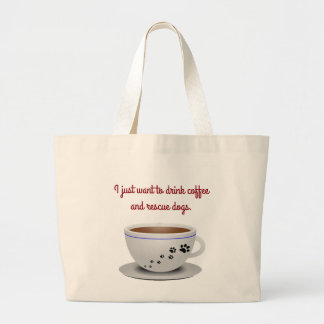 Coffee and Dogs Tote
