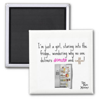 Coffee and Donut Delivery - Magnet