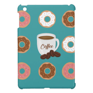 Coffee and Donuts iPad Mini Cover