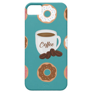 Coffee and Donuts iPhone 5 Cover