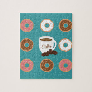 Coffee and Donuts Jigsaw Puzzle