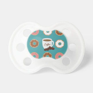 Coffee and Donuts Pacifier