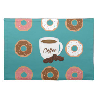 Coffee and Donuts Placemat