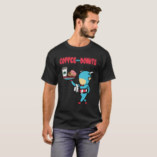Coffee and Donuts Superhero at your service T-Shirt