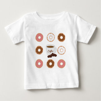 Coffee and Donuts Tote Bag Baby T-Shirt